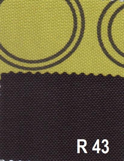 barevné provedení R43